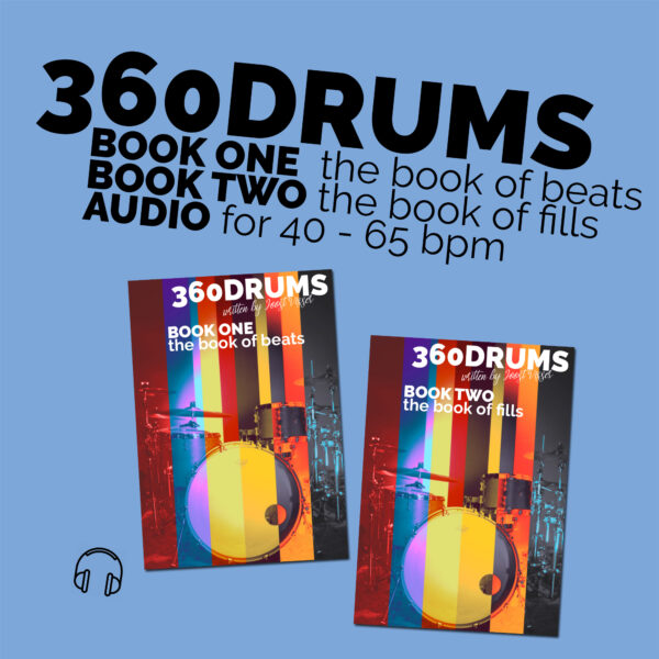 360DRUMS BOOK ONE & TWO